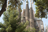 Sagrada Familia (Holy Family) church in Barcelona — Stock Photo