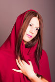 Beautiful arabic woman — Stockfoto