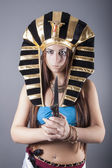 Cleopatra queen of egypt — Stock Photo
