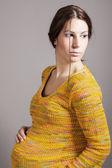 Mooie zwangere vrouw — Stockfoto