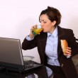 Business woman on break time — Stock Photo #37895171