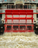 Natchez Paddle Wheel — Stock Photo
