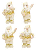 Gold Santa Claus — Stock Photo