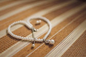 Heart from pearls for Valentine's Day — Foto de Stock