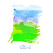 Watercolor. Rectangle. Gradient. Bright colors. — Stock Vector