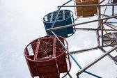 Grande roue colorée — Photo
