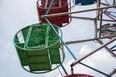 Красочные колесо обозрения — Стоковое фото