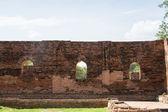 Old Temple Architecture , Wat Phra si sanphet at Ayutthaya, Thailand, World Heritage Site — Stock Photo