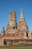 チャイ ・ ワッタナラム寺院、ayuddhaya、タイ — ストック写真