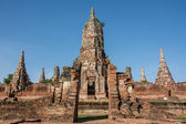 Chai wattanaram chrám, ayuddhaya, thajsko — Stock fotografie