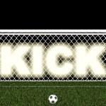 Постер, плакат: Kick penalty area