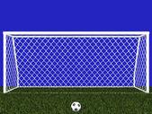 Penalty area — Stock Photo