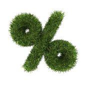 Трава символы математики — Стоковое фото