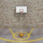 Street basketball, Urban basketball court — Stock Photo #51047523