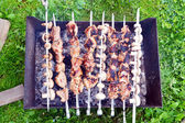 Shish kebab — Foto de Stock