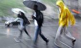 Deštivý den rozmáznout — Stock fotografie