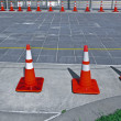 traffic cones — Stock Photo