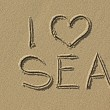 I love sea — Stock Photo #34711691
