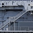 Stairs on ship — Stock Photo