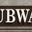 Stock Photo: Subway