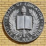 New York Board of Education. — Stock Photo