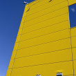 Yellow wall of building — Stock Photo #34713681