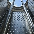 Metal construction with holes — Stock Photo