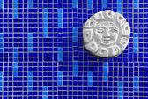 Mosaic and art object — Stock Photo
