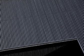 Metal gratings — Stockfoto