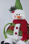 Kardan adam oyuncak — Stok fotoğraf