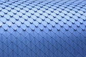Blue rhomb background — Stock Photo
