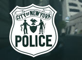 Police emblem — Stock Photo