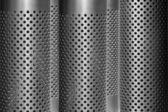 Prickig grå metall bakgrund — Stockfoto