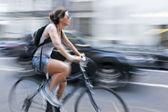 Alternative ecological clean transport — Zdjęcie stockowe