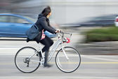Alternative ecological clean transport — 图库照片