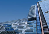 Multistory office buildings in a big city — Stock Photo