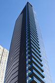 многоэтажных офисных зданий в большом городе — Стоковое фото