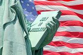 Statue of Liberty - Stock Image — Stock Photo