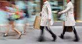 Visit the shops in city — Stock fotografie