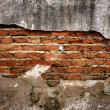 Brick wall  vintage background  — Stock Photo