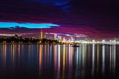 Auckland city slunce — Stock fotografie