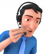 Stockfoto: Customer Service Representative