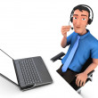 Customer service — Stock Photo #36041319
