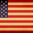 Old American Flag — Stock Photo