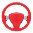 Sport steering wheel — Stock Photo
