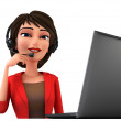 Customer service — Stock Photo #36537915