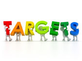 Find your targets — Stock Photo