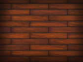 Brown hardwood floor — Stock Photo