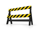Black Barrier — Stock Photo