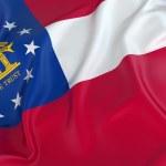 Georgia State Flag — Stock Photo #51041983